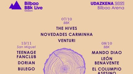 Bilbao BBK Live Udazkena 2021