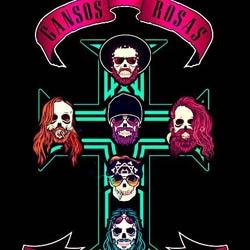Gansos Rosas y su tributo a Guns N Roses llegan a Burgos, Ourense...