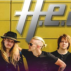 H.E.A.T., hard rock sueco con conciertos en Burgos, Madrid y Barcelona