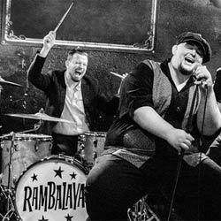 Disco de Rambalaya, grupo de Anton Jarl, batería de Los Mambo Jambo