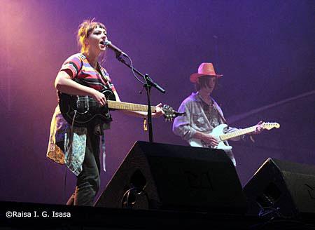 Angel Olsen en Kutxa Kultur Festival 2015 Donostia, crónica concierto setiembre 2015