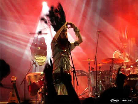 Crystal Fighters en Santiago de Compostela, A Coruña, crónica concierto