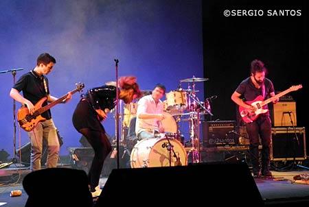 Kuve en Leganés, Madrid concierto mayo 2016