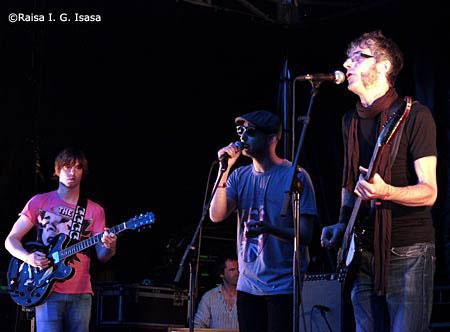 Los Bracco en Kutxa Kultur Festival 2015 Donostia, crónica concierto setiembre 2015