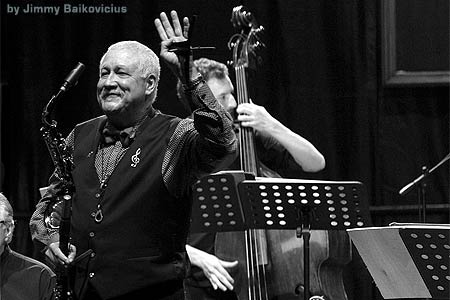 Paquito D Rivera en Auditorio de Galicia de Santiago de Compostela marzo 2018
