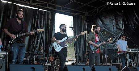 Pet Fennec en Kutxa Kultur Festival 2015 Donostia, crónica concierto setiembre 2015