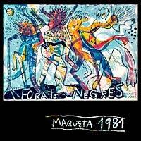 Forats Negres comentario disco Maqueta 1981