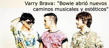 David Bowie, homenaje de grupos y musicos de nuestro pop rock