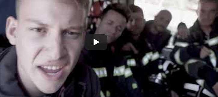 Adán Zurdanov lanza tema hiphop de apoyo a los bomberos para mejorar sus condiciones laborales