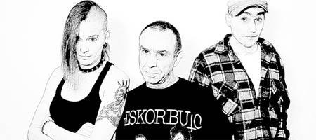 Eskorbuto, concierto homenaje en Santurtzi, Eskorbuto Eguna, con mural punk rock
