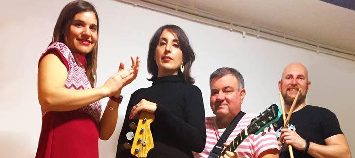 Los Fresones Rebeldes, concierto en Murcia, en final del concurso Pop Rock Sala Revólver