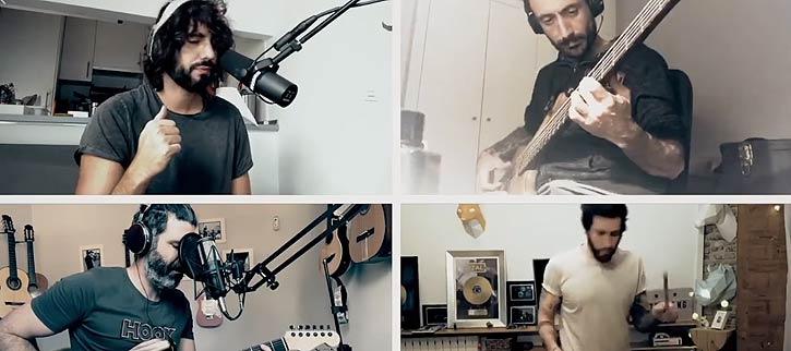 Izal tocan en casa, Los Músicos Se Quedan En Casa La Musica No