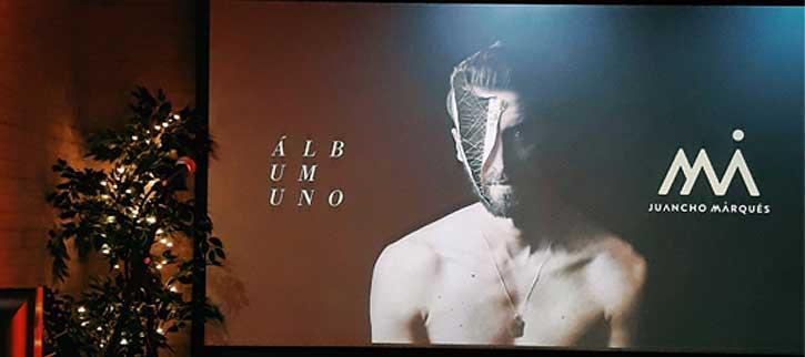 Juancho Marqués, así ha presentado en Madrid Uno, nuevo disco