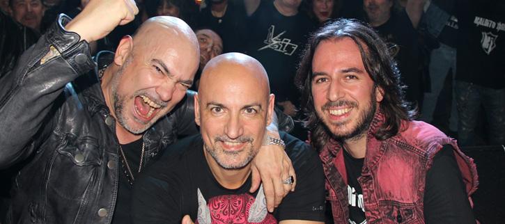 Maldito Jäger, así suena el grupo de Jorge Salán, Fernando Montesinos y José Pereira