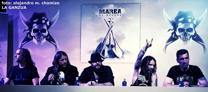 """Marea: """"Los grupos tributo son el VOX del rock"""", esto y más, dicho en la presentación de El Azogue"""
