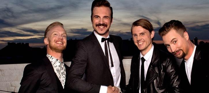 Royal Republic, rock sueco, con conciertos en Bilbao, Madrid y Barcelona
