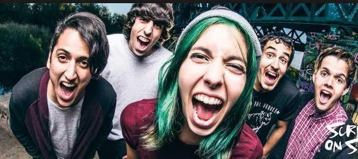 Screams On Sunday, concierto en A Laracha Rock, A Coruña